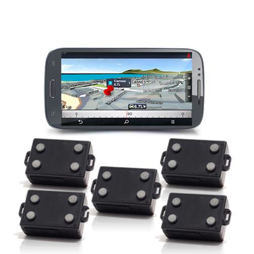 Kit de géolocalisation Nav Tracking Live GPS et un Smartphone
