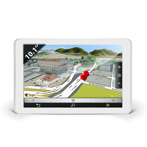 Tablette tactile de géolocalisation 10 pouces