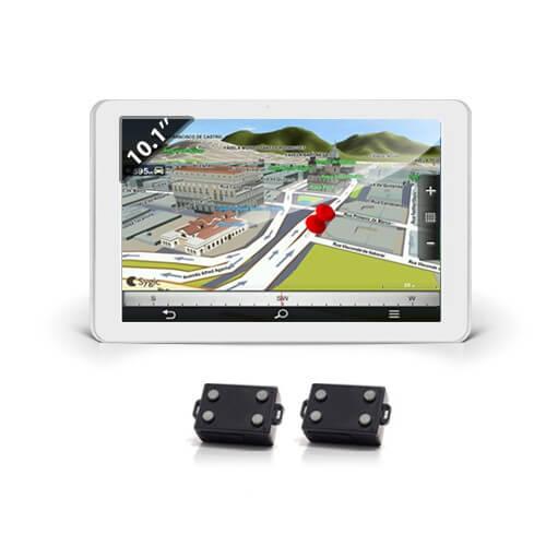 Kit de geolocalisation en temps réel tablette tactile avec 2 balises GPS