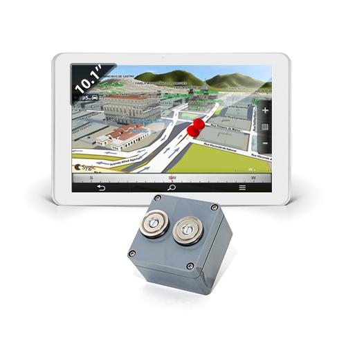 Kit de géolocalisation avec 1 balise GPS