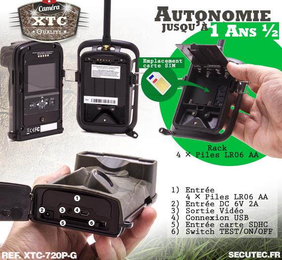 La batterie XTC-720P-G