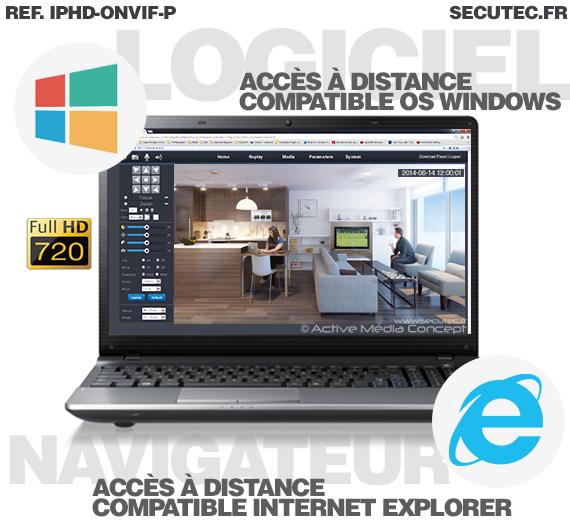 logiciel camera ip hd 720p