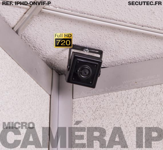 Caméra IP micro HD 720P