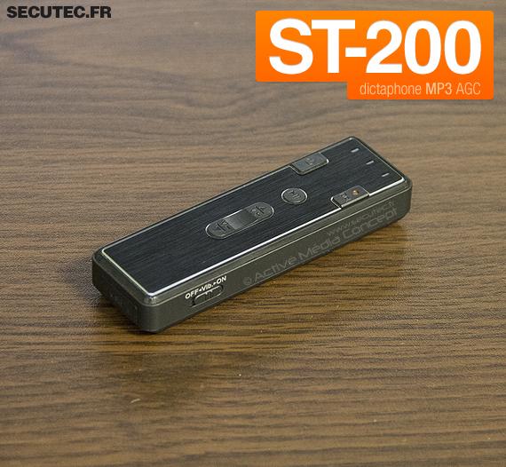 Micro enregistreur audio numérique avec détection de son 4