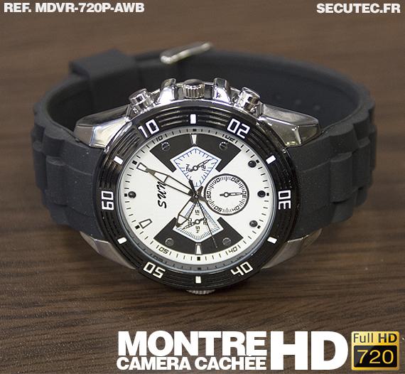 La montre caméra cachée MDVR-720P-AWB