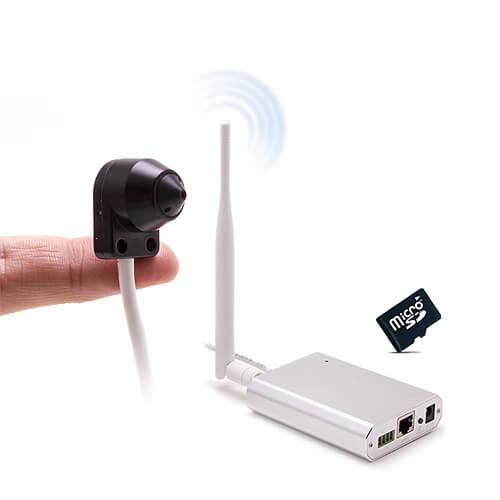 Micro caméra HD 720P IP WiFi et SD