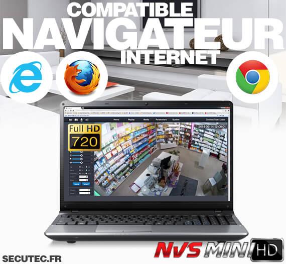 Navigateur compatible internet