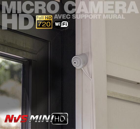 Micro caméra posé