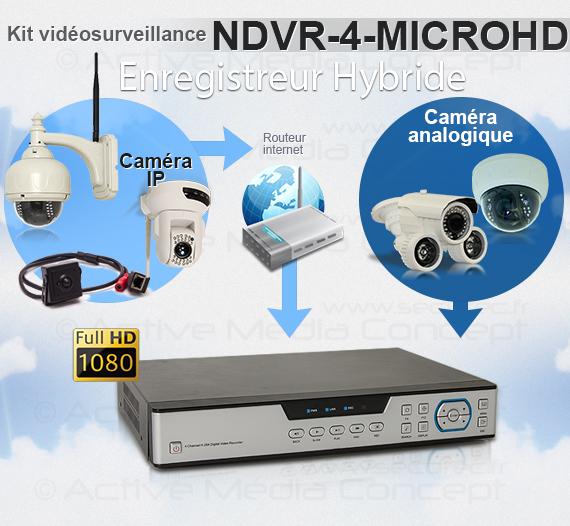 NDVR-4-MICROHD - Enregistreur hybride 2