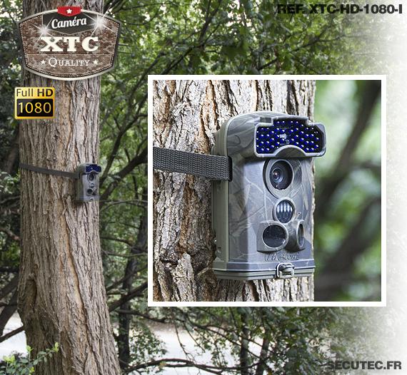 La fixation à un arbre de la caméra XTC-HD-1080-I