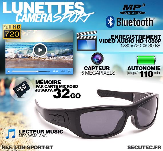 Descriptif des lunettes LUN-SPORT-BT