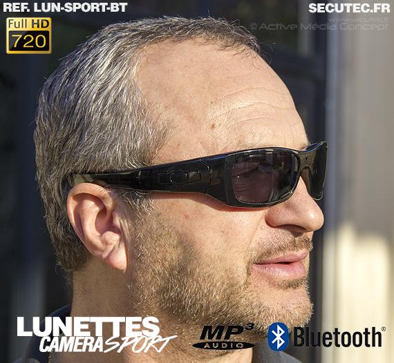 Un exemple en taille réelle des lunettes de sport LUN-SPORT-BT