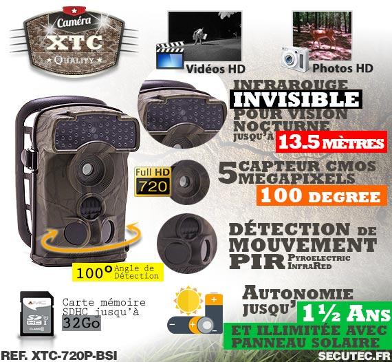 Description du kit XTC-720P-BSI