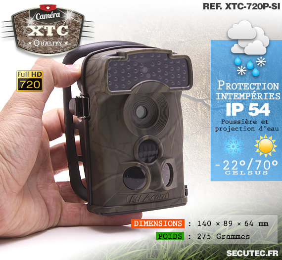 Description du Kit XTC-720P-SI