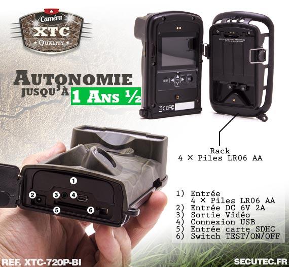 Batterie du Kit XTC-720P-BI