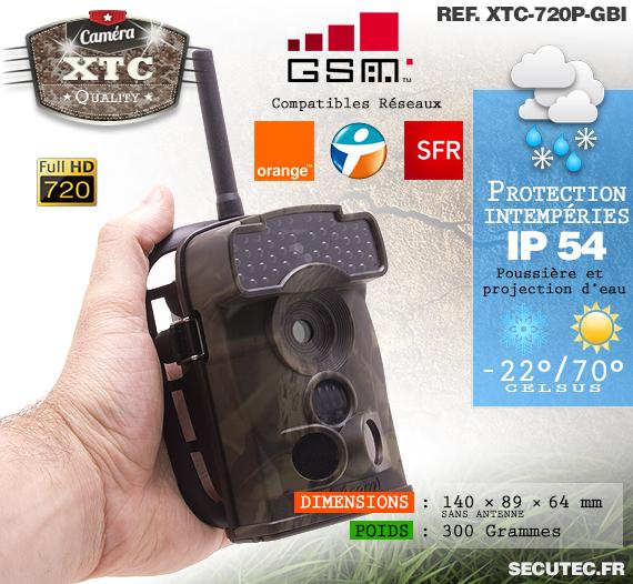 Description du kit XTC-720P-GBI