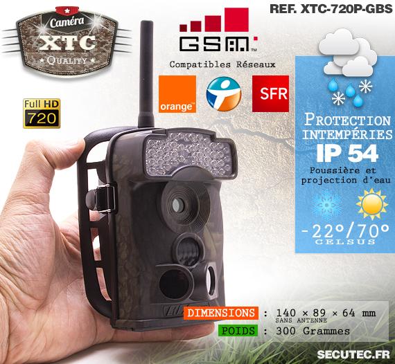 Description du kit XTC-720P-GBS