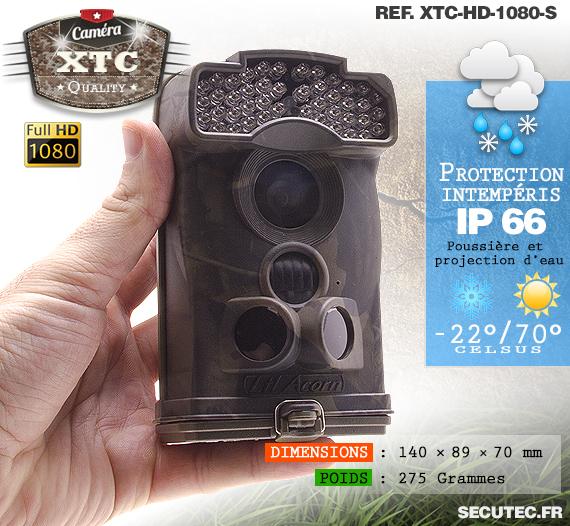 La suite des caractéristiques de la caméra XTC-HD-1080-S