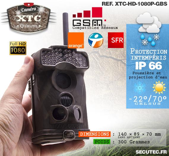 Le réseau de la caméra XTC-HD-1080-G