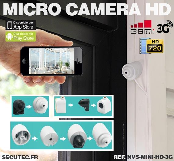 Support Micro caméra