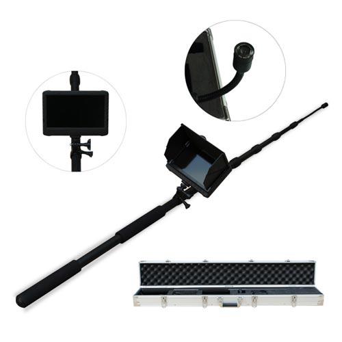 Caméra inspection avec perche 5 mètres waterproof HD 1080 avec écran enregistreur 7 pouces