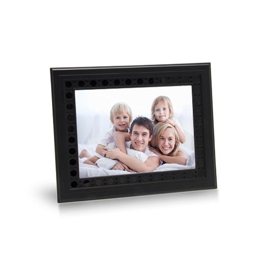 Cadre photo caméra cachée couleur avec enregistreur HD 720P audio 32Go
