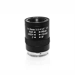 Objectif C-CS 3.5mm-8mm de 36-80 degrés