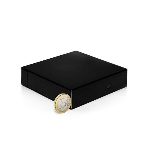 Caméra cachée dans une boîte noire HD 720P Wi-Fi longue autonomie avec détection de mouvement