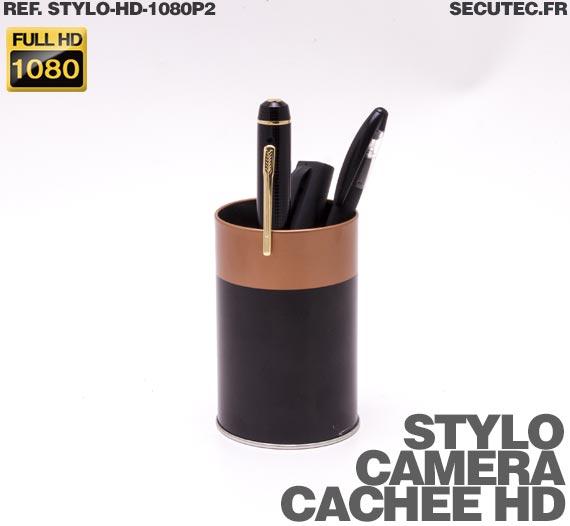 caméra cachée stylo