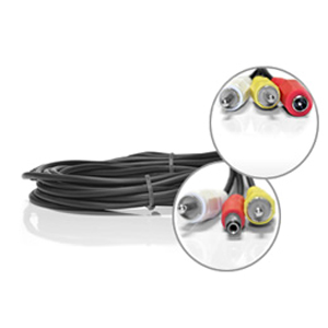 Câble RCA + Alimentation de 5 metres