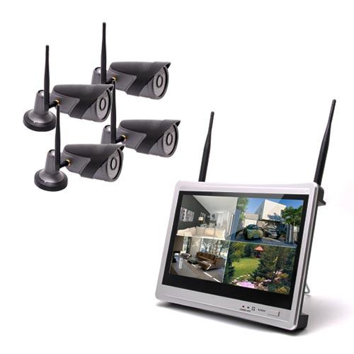 Kit vidéosurveillance WiFi 4 camera