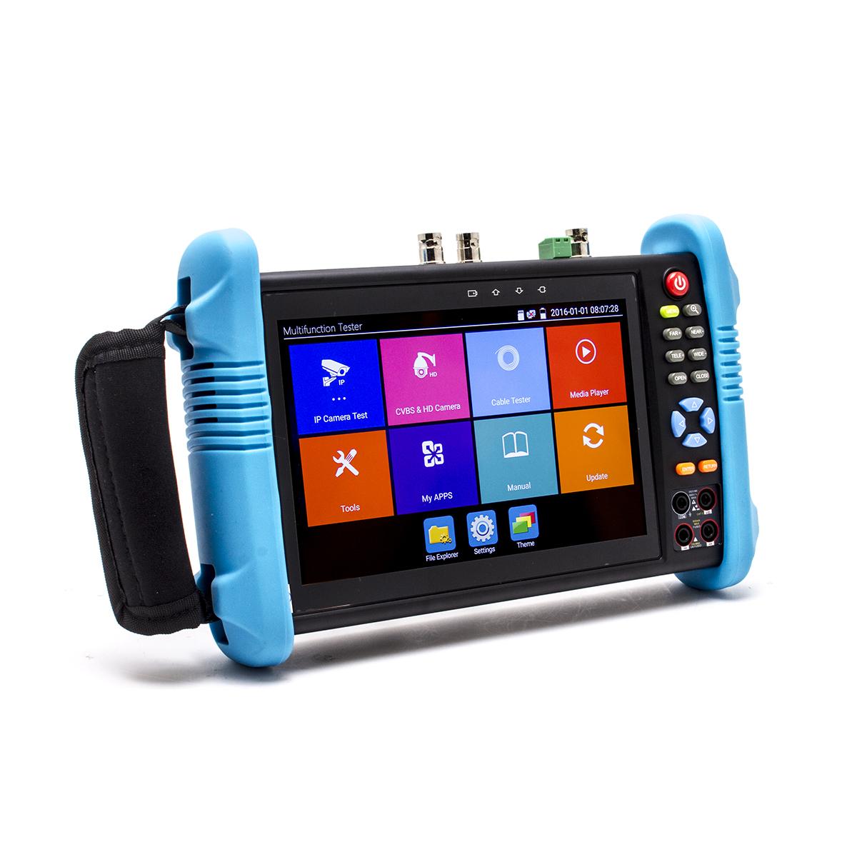 1200 Testeur et scanner de caméra 4K max avec écran tactile 7pouces