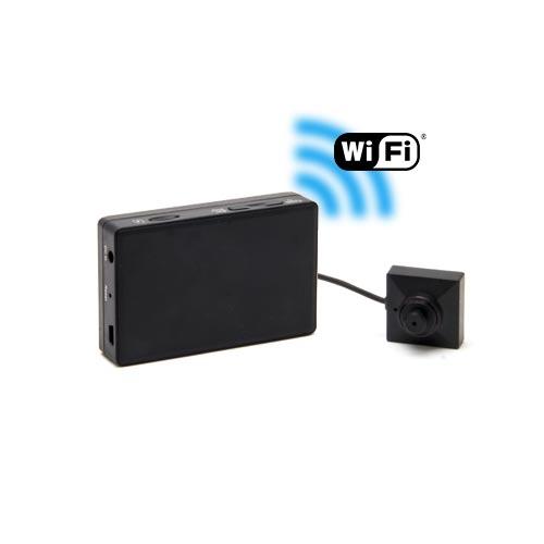 Kit micro caméra bouton / vis avec micro enregistreur IP WiFi