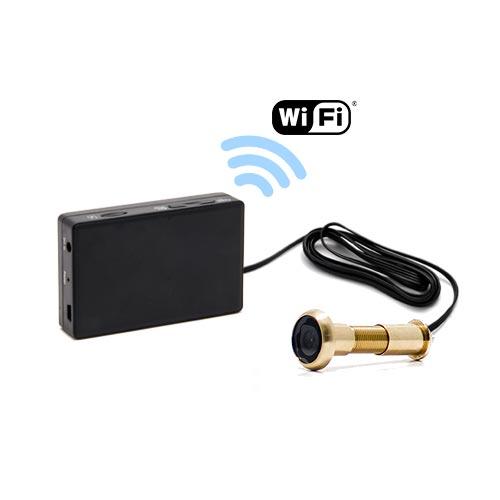 Kit camera cachée judas avec micro enregistreur IP WiFi
