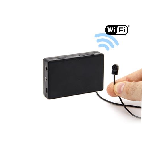 Kit micro caméra avec micro enregistreur IP WiFi