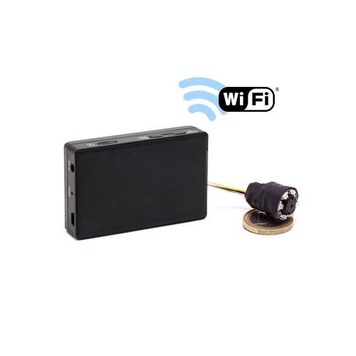 Kit nano caméra infrarouge avec micro enregistreur IP WiFi