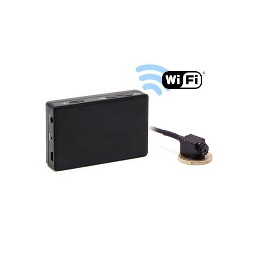 Kit micro caméra carrée avec micro enregistreur IP WiFi