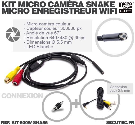 micro caméra d'inspection