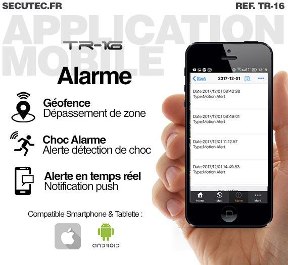Balise GPS / GSM longue autonomie vélo application android