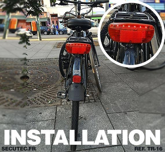 Balise GPS / GSM longue autonomie  vélo electrique VAE