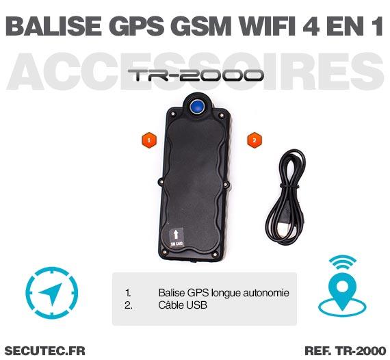 Accessoires Balise GPS / GSM / WiFi localisation en temps réel