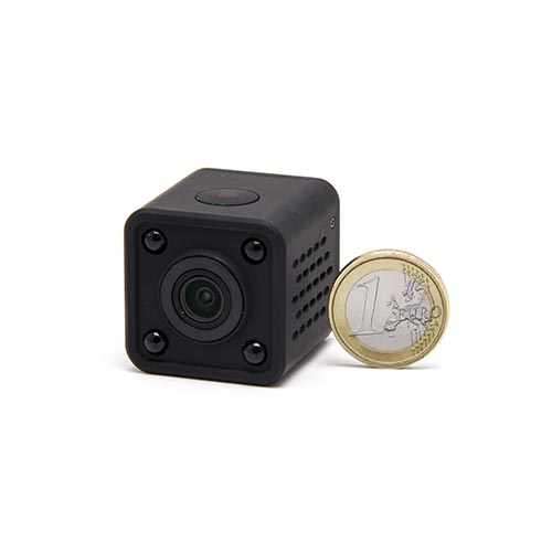 Micro caméra WiFi HD 1080P autonome avec infrarouge invisible