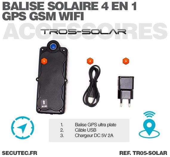 balise gps solaire accessoires