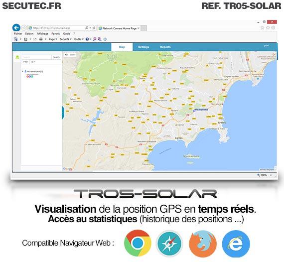 logiciel balise gps solaire
