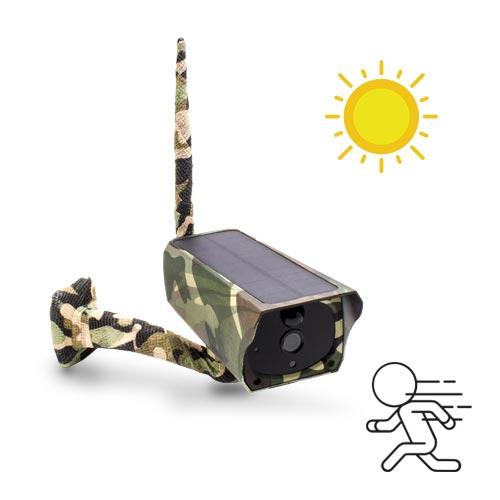 Caméra camouflage solaire IP Wi-Fi extérieure HD 1080P