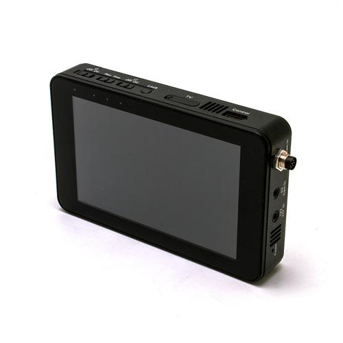 """Mini enregistreur numérique IP / Wi-Fi professionnel Full HD 1080P avec écran tactile 5"""" et HDD 1 To"""