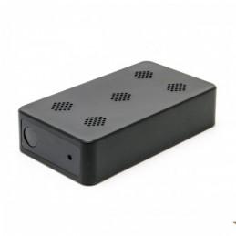 Micro caméra HD 1080P avec détection de mouvement PIR longue autonomie dans une boite noire carte 64 Go incluse