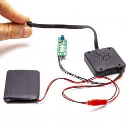 Module micro caméra IP WiFi HD avec vision nocturne et enregistreur à intégrer microSD 128 Go incluse