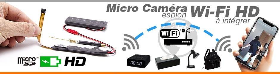 Spécialiste de la micro caméra espion sans fil